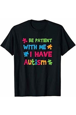 BullQuack Be Patient with Me I Have Autism - Autistic Awareness T-Shirt