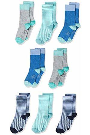 s.Oliver Boy's S20574000 Calf Socks (Campanula Melange 5515) 35-38