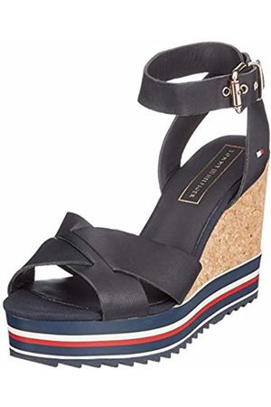 Tommy Hilfiger Women's Colored Stripes Wedge Sandal Platform 6.5 UK