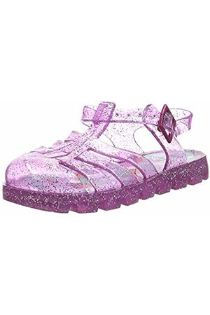 Joules Girls' Jelly Shoe Closed Toe Sandals, (Truly Trupink)