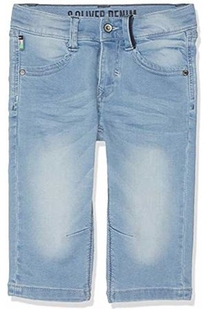 s.Oliver Boys' 61.904.72.8941 Trousers Blau ( Denim Stretch 54z2)