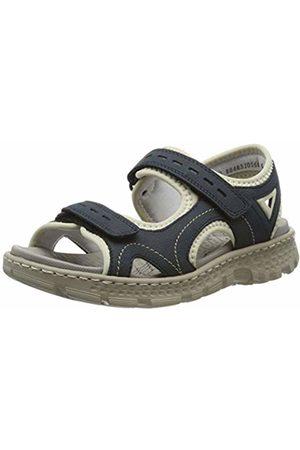 Rieker Women's 67866-14 Closed Toe Sandals (Pazifik/ 14) 4 UK