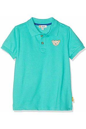 Steiff Boy's Poloshirt Polo Shirt, (Aqua 5007)