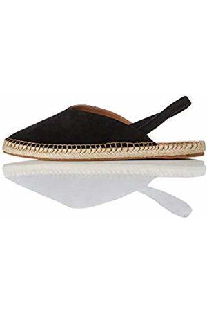 FIND Slingback Leather Espadrille Sling Back Sandals