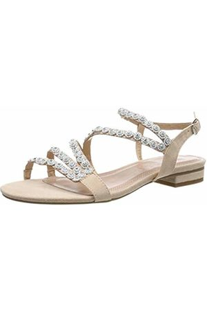 New Womens Jane Klain Metallic 81322 Synthetic Sandals Flats Elasticated Straps
