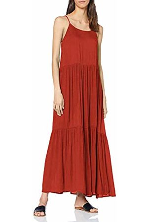 Y.A.S YAS Women's YASSANDY Ancle Dress Rot Fiery