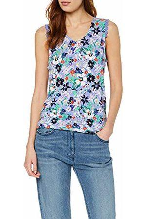 Tom Tailor Women's 1009862 Vest (Lavender Flower Prin 16849)