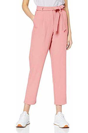 Pieces NOS Women's PCALBIA HW Pants NOOS Trousers, Rosa Peachskin