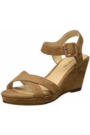 JB Martin Women's Querida E19 Sandals, (Chevre Velours Sahara)