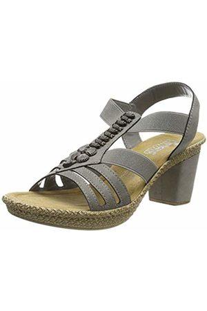 Rieker Women's 66506-42 Closed Toe Sandals (Staub 42) 5 UK