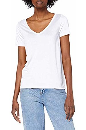 Pieces NOS Women's PCLUCY SS V-Neck TOP NOOS T - Shirt Bright