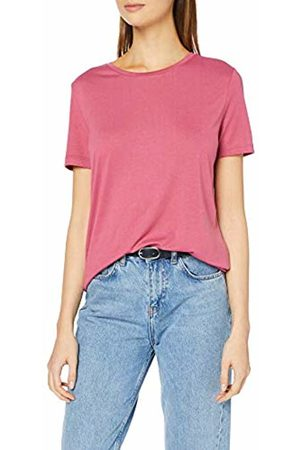 Pieces NOS Women's PCLUCY SS TOP T - Shirt Rosa Malaga