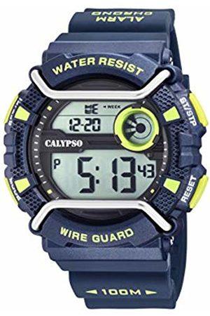 Calypso watches Mens Digital Quartz Watch with Plastic Strap K5764/3