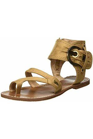 Les P'tites Bombes Women's Pensee Open Toe Sandals, (Velours 050)