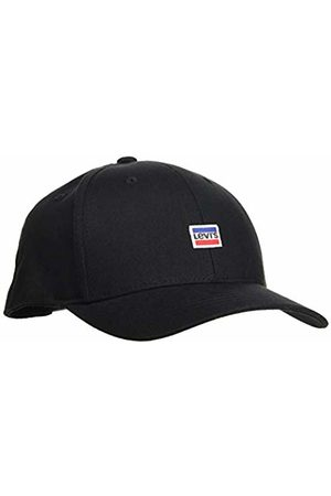 Levi's Men's Mini Sportwear Logo Flexfit Flat Cap, (Regular 59)