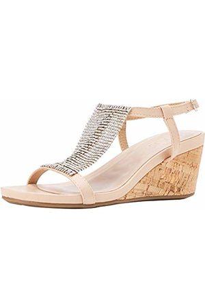 Lotus Women's Klarrisa Open Toe Sandals (Nude Charcoal) 6 (40 EU)