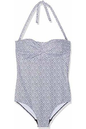 Lovable Women's Reversible & White Swim Trunks Not Applicable, (Bianco + Nero 558)