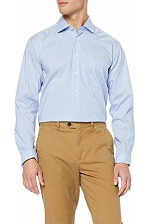 Seidensticker Men's Comfort Langarm Mit Kent Kragen Bügelfrei Kariert Formal Shirt
