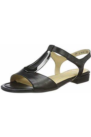 ARA Women's Vegas 1216839 T-Bar Sandals (Schwarz 01) 4 UK