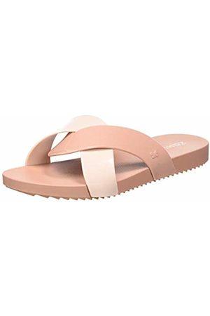 Zaxy Women's Check Thong Fem Mules (Nude 8792) 5 UK