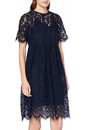 b62f01a678de Pieces Women s Pcgaia 2 4 Midi Lace Dress Navy Blazer
