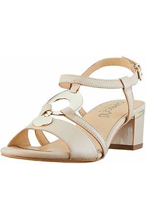 Caprice Women's's Arielle Ankle Strap Sandals, ( Perlato 433)