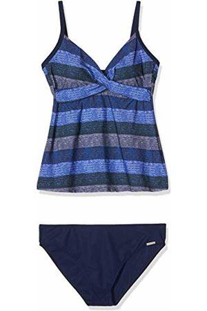 Olympia Women's Path Tankini (Blau 26) 40C (Size: 44C)