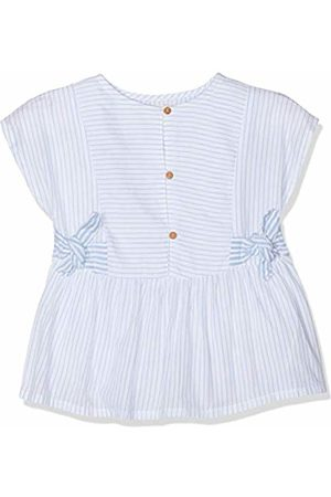 ZIPPY Girl's Zg0302_455_7 Blouse, (Chambray 3164)