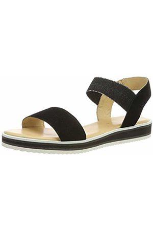 ARA Women's Durban 1214730 Platform Sandals (Schwarz 01) 8 UK