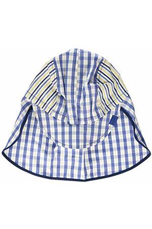 maximo Boy's Schildmütze, Nackenschutz, Karo, Bindeband Hat