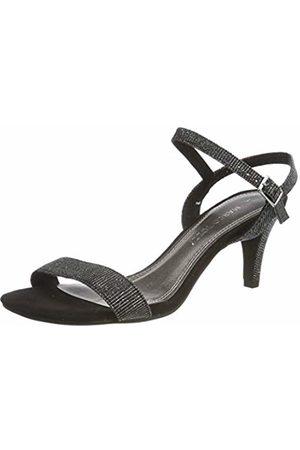 Marco Tozzi Women's 2-2-28352-22 Ankle Strap Sandals Metallic 033 6 UK