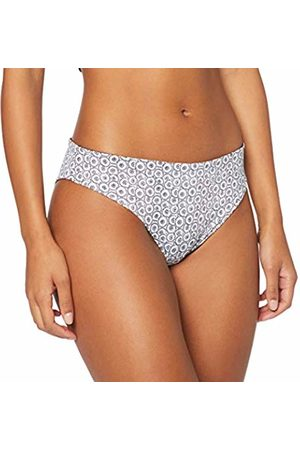 Lovable Women's Reversible & White Bikini Bottoms Not Applicable, (Bianco + Nero 558)