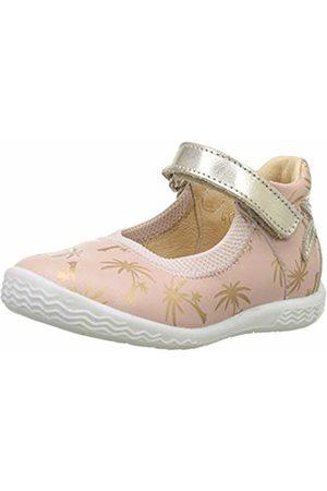 Babybotte Girls' Sahara Closed Toe Ballet Flats (Nude 401) 7 UK 7UK Child