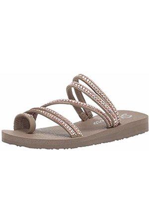 Skechers Women's Meditation-Glam Flash Open Toe Sandals