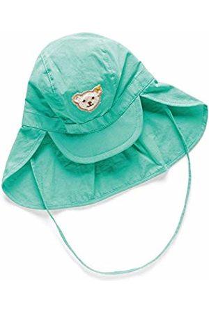 Steiff Baby Boys Mütze Hat, (Aqua 5007)