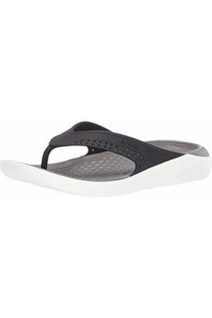 Crocs Unisex Adults' Literide Flip U Beach & Pool Shoes /Smoke 05m