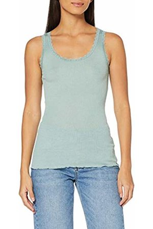 Saint Tropez Women's Rib Tank Top with Lace Vest Not Applicable