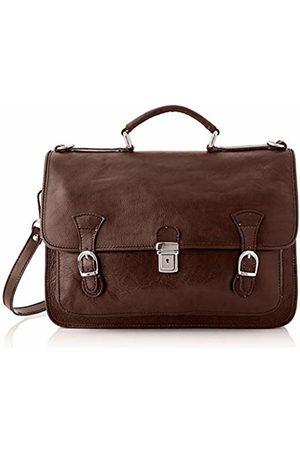 Chicca Tuttoa Women's CBC18959GF22 Top-Handle Bag Brown Marrone (Testa Di Moro)