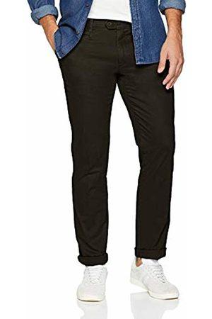 Brax Men Chinos - Mens Straight Trousers - Green - W38/L34