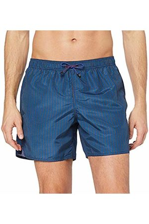 Emporio Armani Underwear Men's 9P441 Trunks (Antracite/Blu/Blu 21242) X-Small (Manufacturer size: 46)