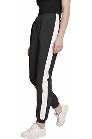 Urban classics Women's Ladies Striped Crinkle Pants Trouser