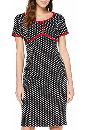 Joe Browns Women's Vintage Polka Dot Fitted Dress Multi (Size:UK 18)