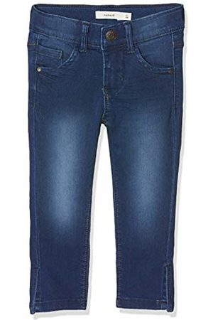 Name it Girl's Nkfpolly Dnmtasanne 2195 Capri Jeans, Medium Denim