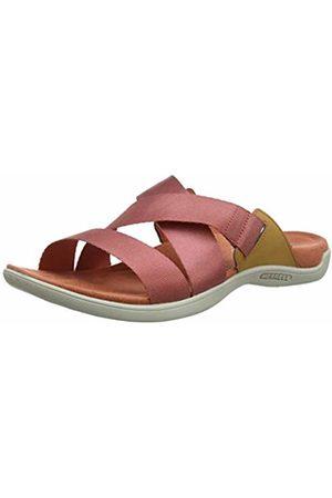 Merrell Women's District Maya Slide Open Toe Sandals, Redwood