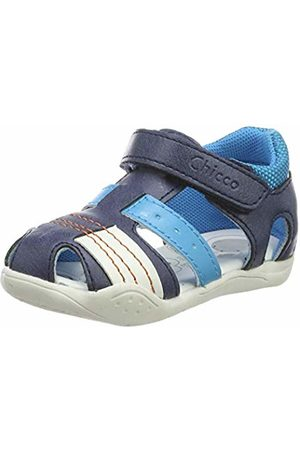 chicco Boys' Gaio Sandals (Blu/800 800) 9-12 MESI UK