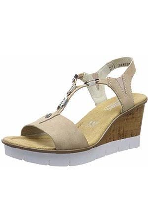 Rieker Women's V5588-31 Platform Sandals