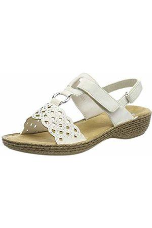 Rieker Women's 658b1-80 Closed Toe Sandals (Ice 80) 5 UK