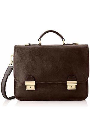Chicca Tuttoa Women's CBC18225GF22 Top-Handle Bag Brown Marrone (Testa Di Moro)