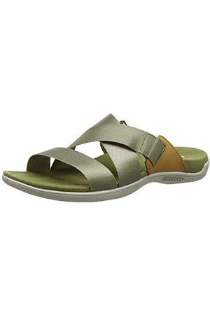 Merrell Women's District Maya Slide Open Toe Sandals, Olive Drab