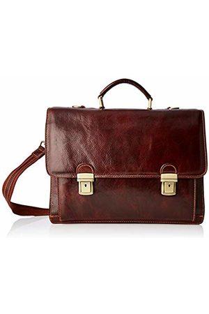 Chicca Tuttoa Women's CBC181070GF22 Top-Handle Bag Brown Marrone (Testa Di Moro)